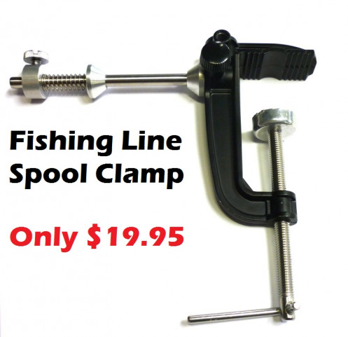 Fishing line spooler ray anne 39 s tackle for Fishing line spooler