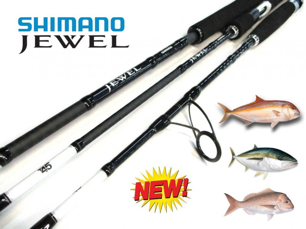 New Shimano Jewel Series Fishing Rods -Ray & Anne's Tackle & Marine site