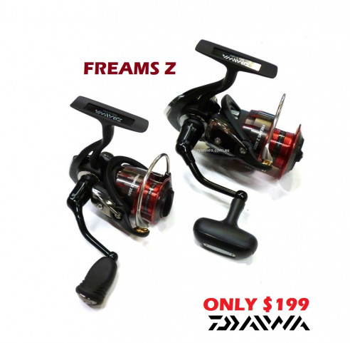 Daiwa Freams Z Reels - Not $299 - Only $199 -Ray & Anne's