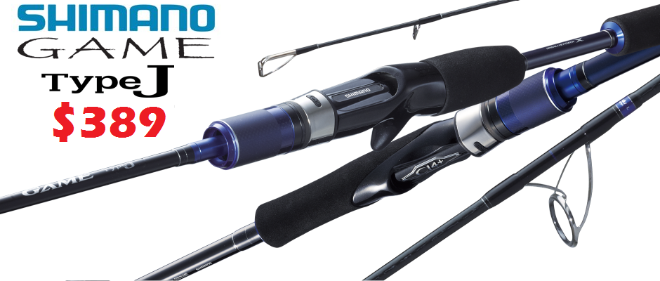 Shimano Game Type J Jigging Rods - Only $389 -Ray & Anne's Tackle